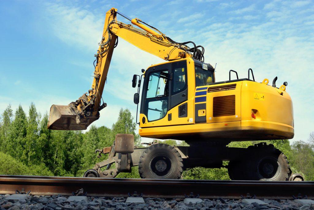 Zweiwege Bagger Railxpert